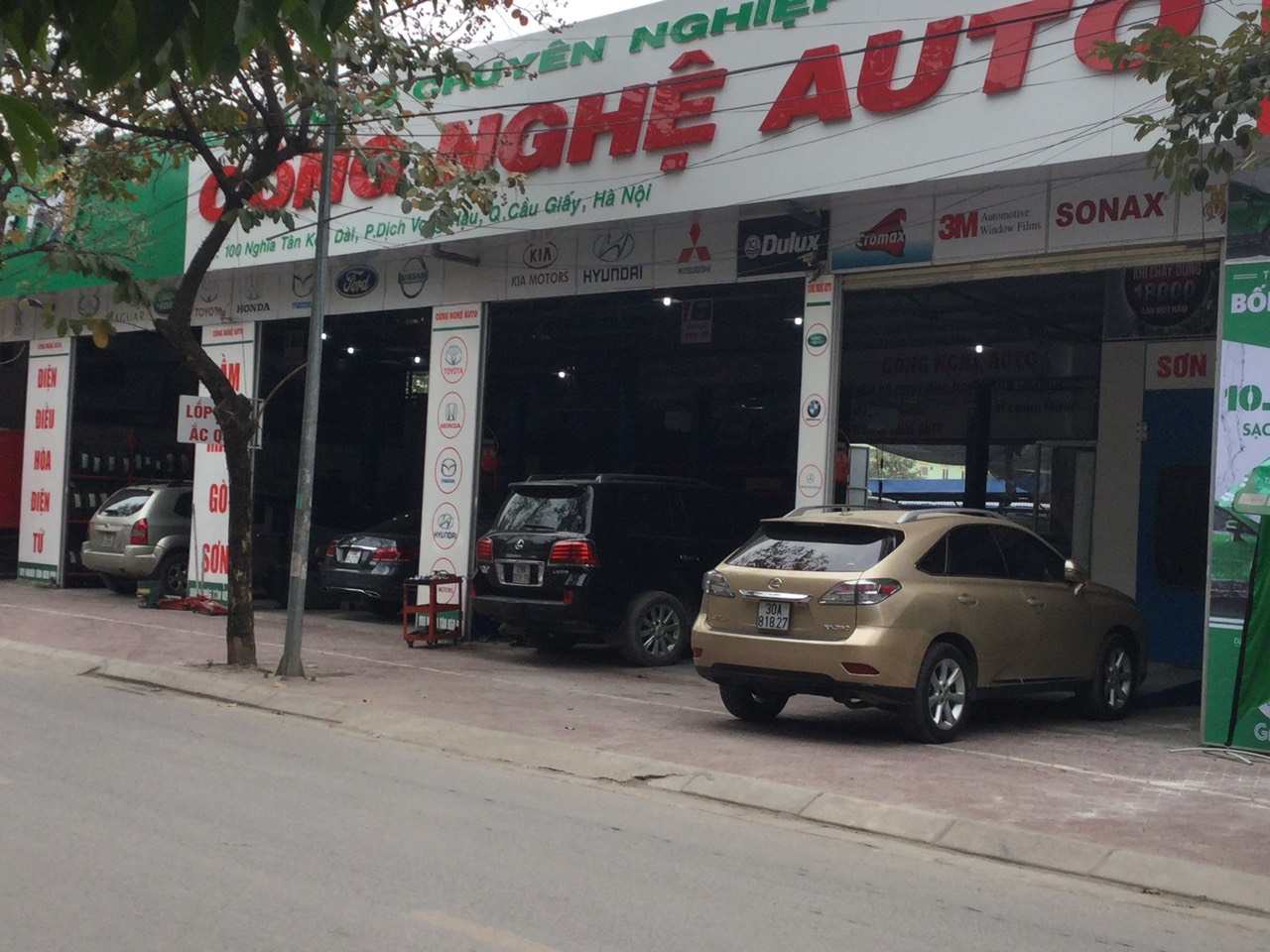 Công Nghệ Auto 100 Nghĩa Tân